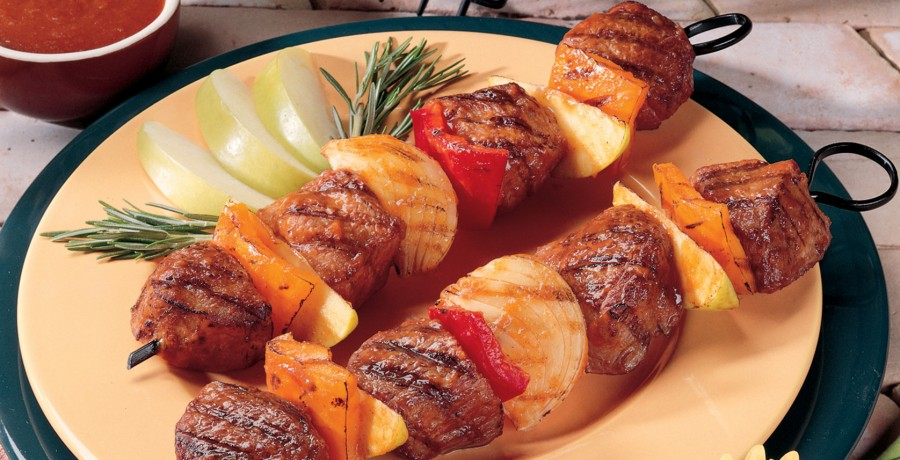 Appleicious Lamb Kabobs